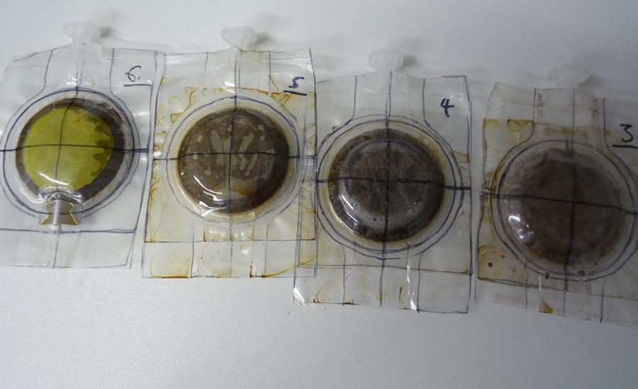 Prototype espresso coffee sachets