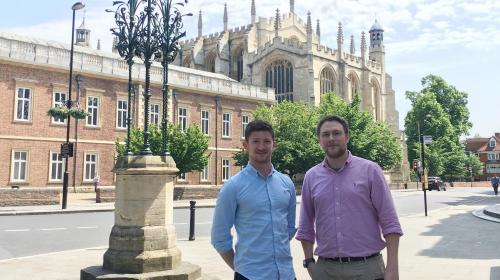IDC's Design Engineers Share their Career Experience with Eton College
