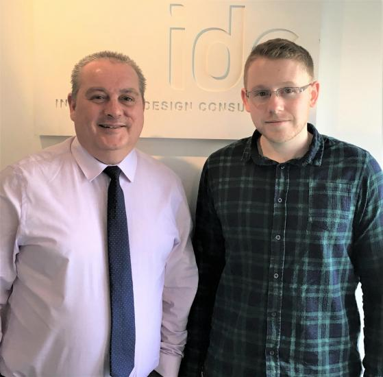 IDC's Simon Rhodes and Nick Brown (left to right)