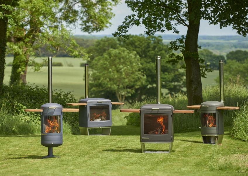 Chesneys range of barbecues/heaters designed by IDC