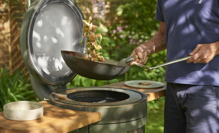The Barbecue Delivered Versatility of Cooking Function
