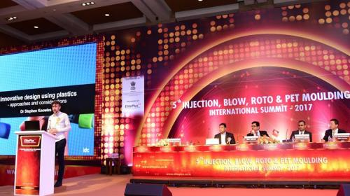 IDC's MD Advises about Plastics Innovation at Mumbai Summit
