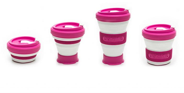 Collapsible cup sustainable design