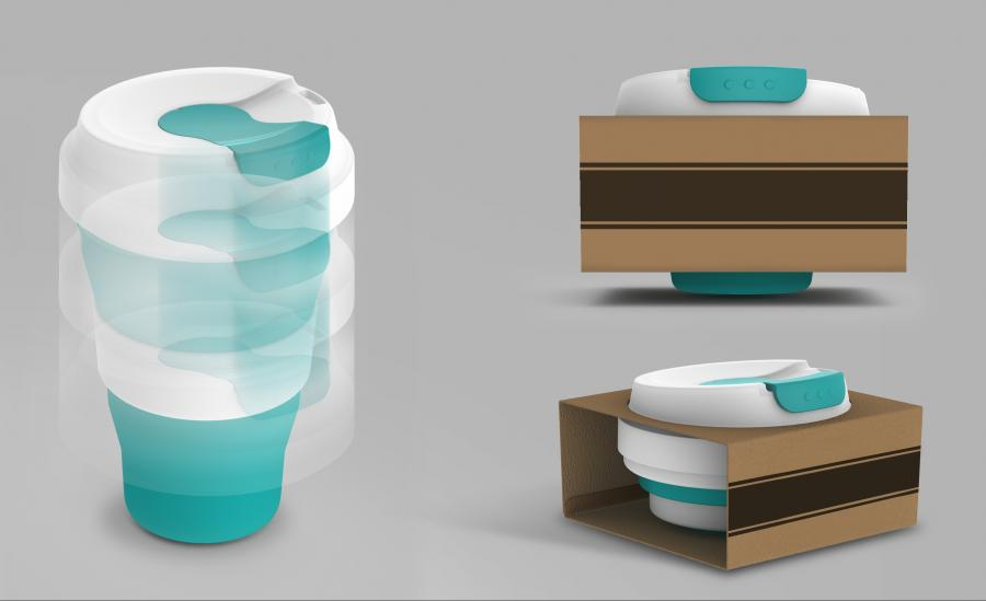 Early Concepts of the Collapsible Cup