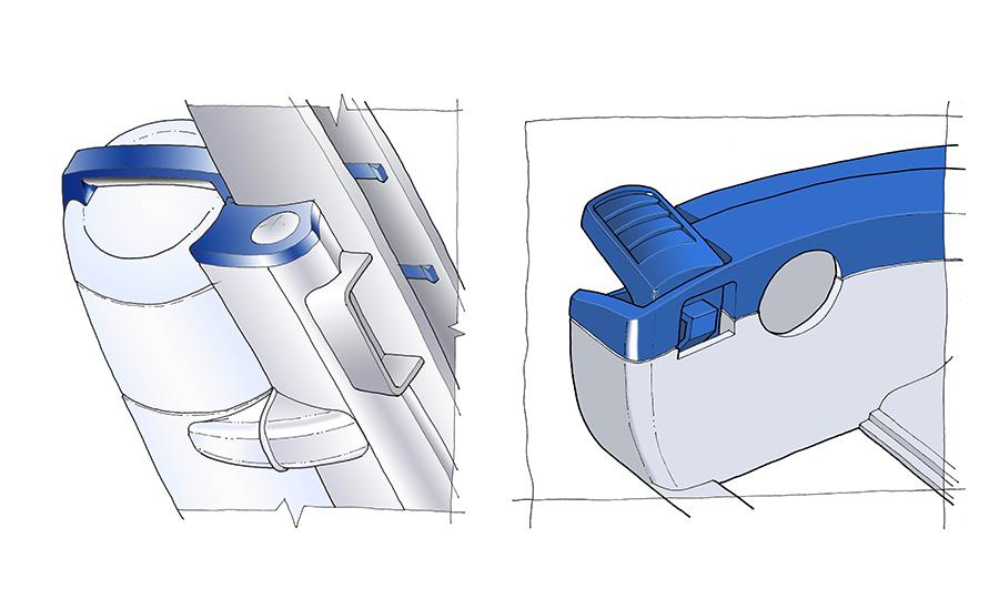 Design Detailing on vacuum cleaner
