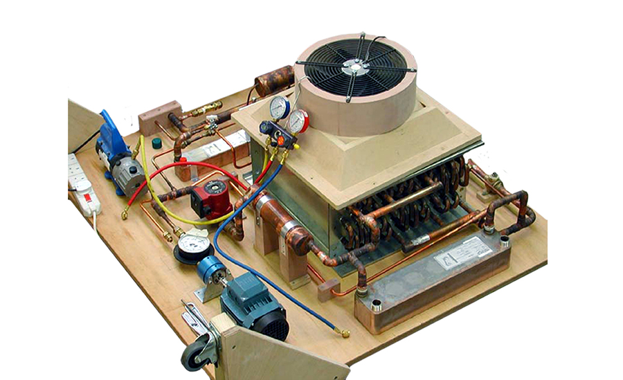 Solar Thermal Air Conditioning Prototype