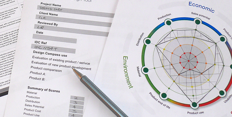 IDC Design Compass evaluation tool