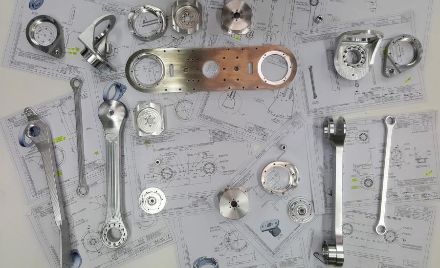Precision Machined Aluminum Components