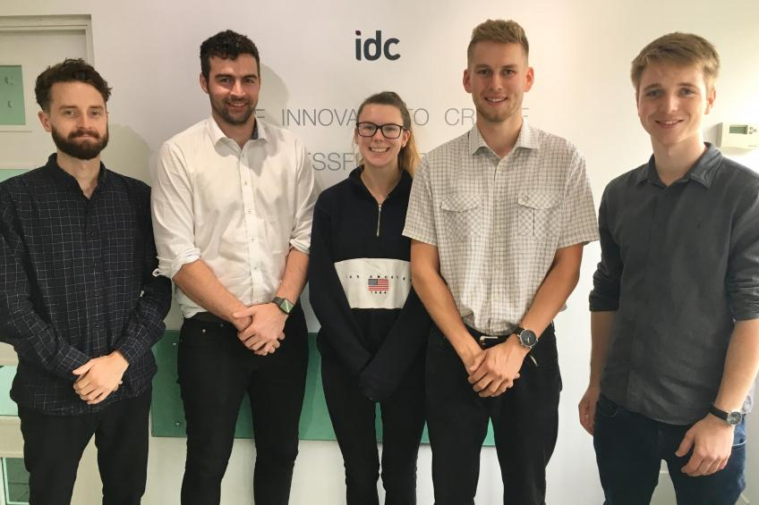 New product designers at IDC