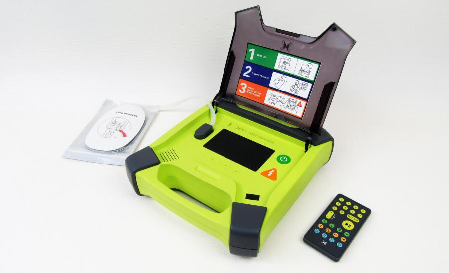 The AED Trainer was Designed to Mimic a Real AED