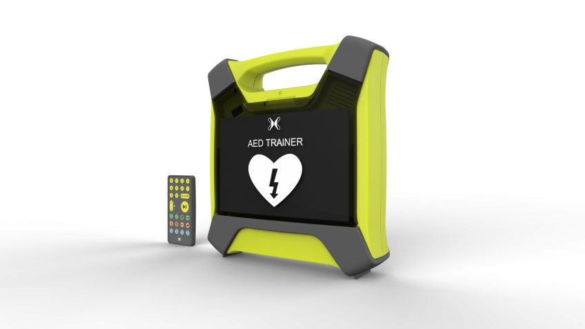 AED Trainer Developed by IDC