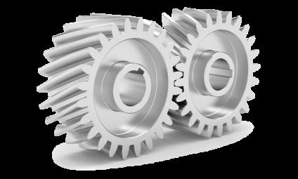 helical cut gears